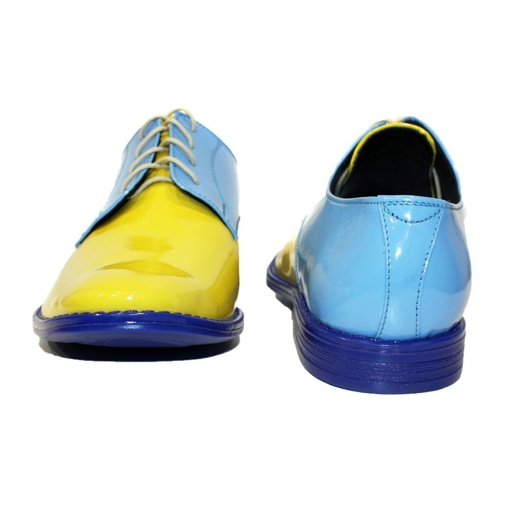 9eeb68cb Modello Lemonado - Mano Italiano Amarillo Zapatos Oxford Vestido ...